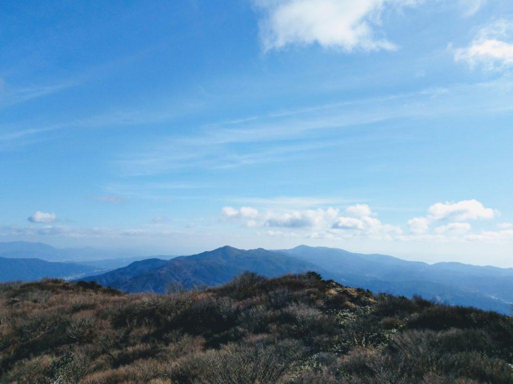 井原山からの景色
