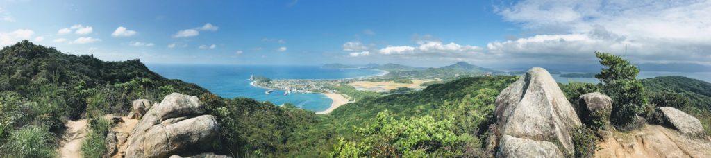 立石山からの糸島の景色