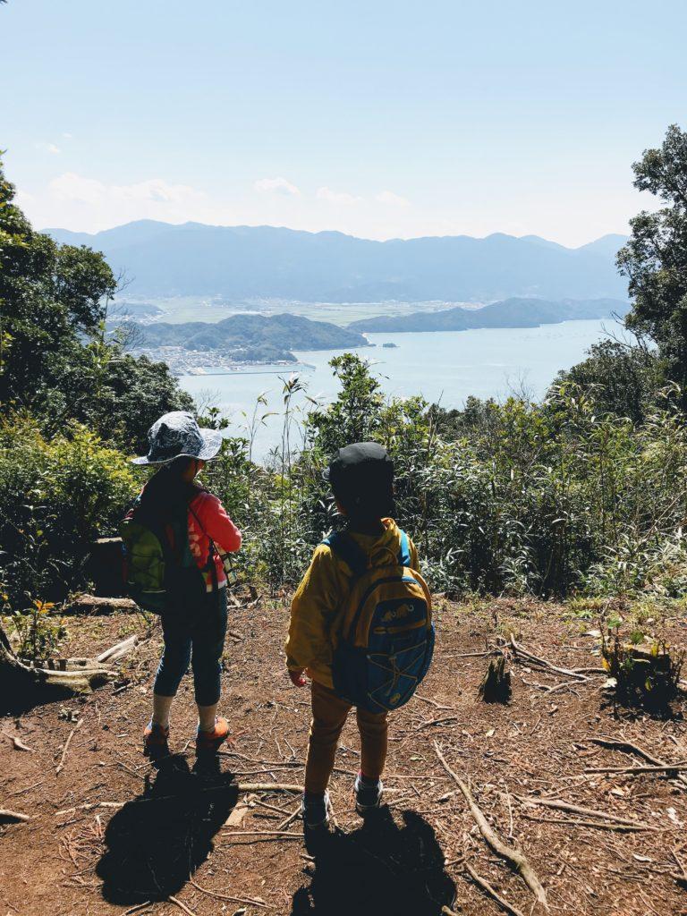 可也山から二丈方面の眺め
