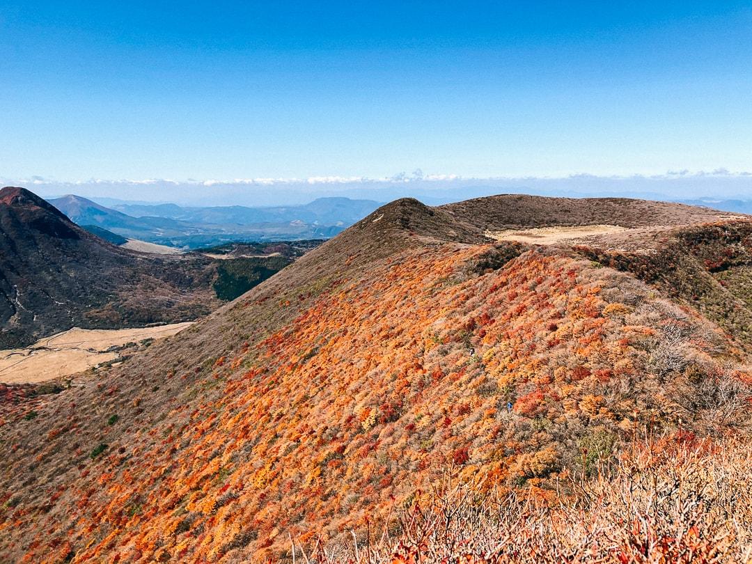 紅葉の大船山